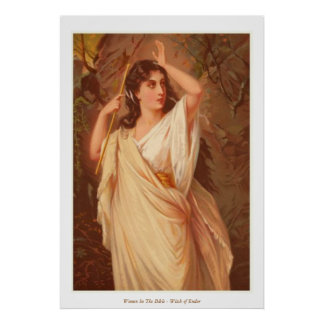 Women In The Bible - Witch of Endor Poster