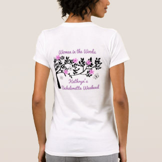 Women in the Woods Bachelorette Party T-Shirt