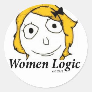 Women Logic Sticker