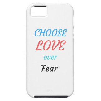 WOMEN MARCH CHOOSE LOVE OVER FEAR CASE FOR THE iPhone 5