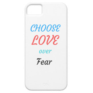 WOMEN MARCH CHOOSE LOVE OVER FEAR iPhone 5 COVER