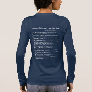 Women Nobel Peace Prize awardees Long Sleeve T-Shirt
