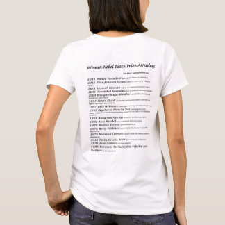 Women Nobel Peace Prize Awardees T-Shirt