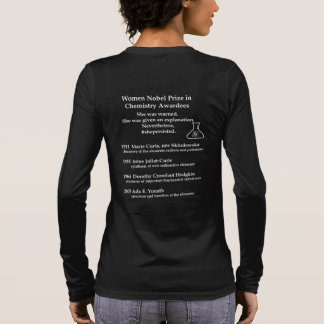 Women Nobel Prize in Chemistry Long Sleeve T-Shirt