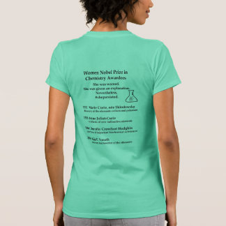 Women Nobel Prize in Chemistry T-Shirt