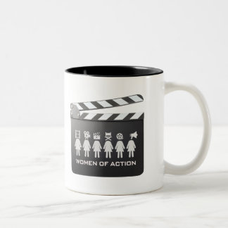 WOMEN OF ACTION Coffee Mug