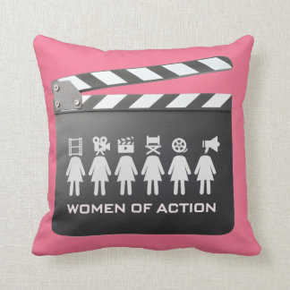 women of action pillow