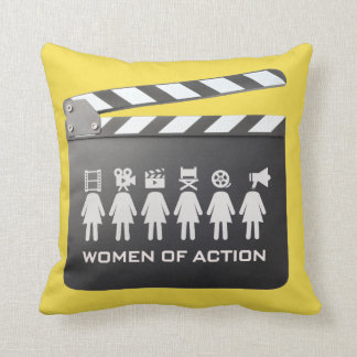 WOMEN OF ACTION: the pillow
