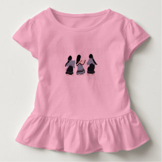 Women of All Possibilities for girls in a ruffles Toddler T-shirt
