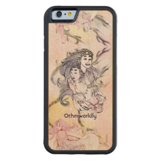 Women of Corona Borealis 1 Aliens Space Fantasy Carved Maple iPhone 6 Bumper Case