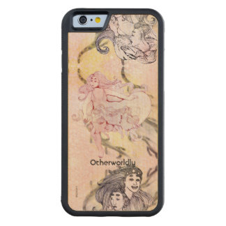 Women of Corona Borealis 2 Aliens Space Fantasy Carved Maple iPhone 6 Bumper Case