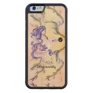Women of Corona Borealis 3 Aliens Space Fantasy Carved Maple iPhone 6 Bumper Case