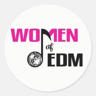 Women of EDM Logo Sticker