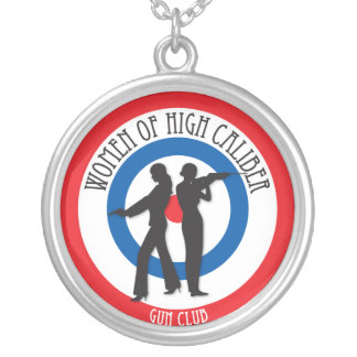 Women of High Caliber Necklace