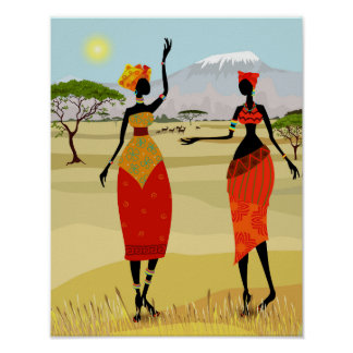 Women of Kenya animation Poster
