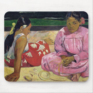 Women of Tahiti, On the Beach, 1891 Mouse Pad