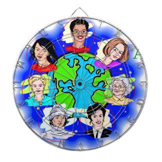 Women of the World Dartboard