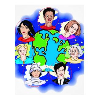 Women of the World Letterhead