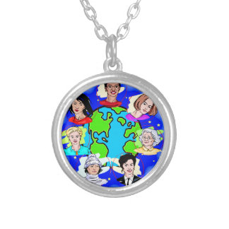 Women of the World Silver Plated Necklace