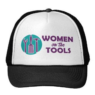 Women on the Tools logo Trucker Hat