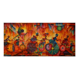 Women On Wheels - Canvas Print