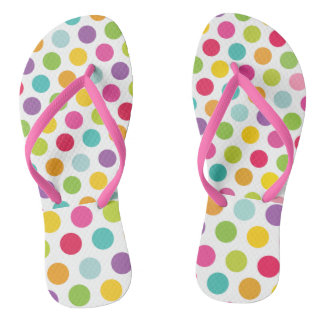 women or girl flip flops