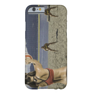 Women playing volleyball on beach barely there iPhone 6 case
