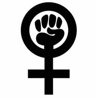 Women Power Symbol Photo Sculptures