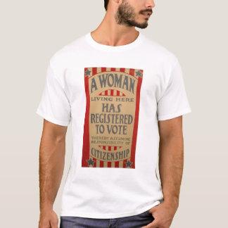 Women, Register to Vote! T-Shirt