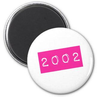 Women Retro 2002 Born 16th Birthday Bday Shirt 80s Magnet