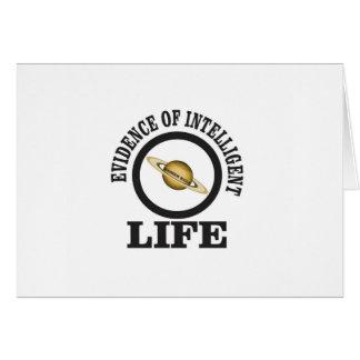 women rule intelligent life card