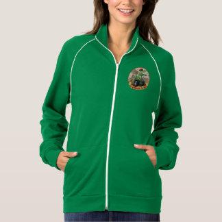 Women's American Apparel Calif. Fleece Track Jacke Jacket