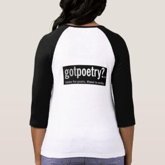Women s GotPoetry Baseball T-Shirt