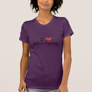 Women s I Heart Action Figures Shirt