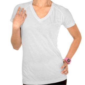 Women s Sport-Tek Fitted Active V-Neck T-Shirt