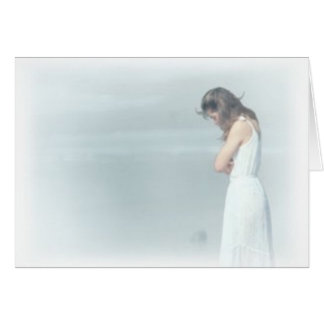 women sad card