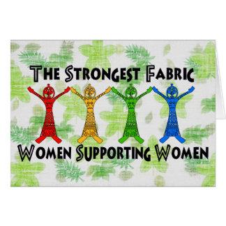 Women Supporting Women Card