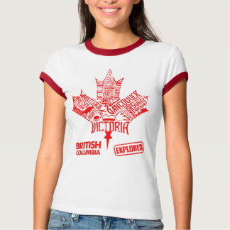 "Women t-shirt ""British Columbia Explored"""