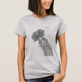 women t-shirt grey