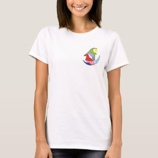Women T-Shirt with Stylish Design