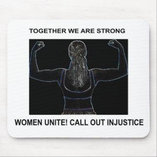 WOMEN UNITE MOUSE PAD
