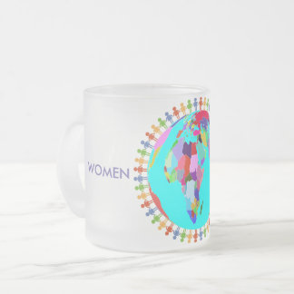 Women United Frosted Glass Coffee Mug