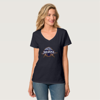 Women V-Neck Storm T-Shirt