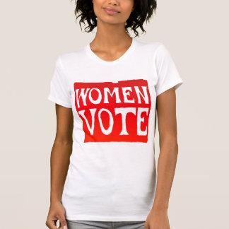 Women Vote - Raging Red T-Shirt