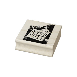 Women Vote Rubber Stamp