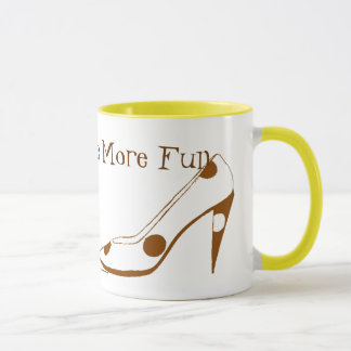Women Who Love High Heel Shoes Mug