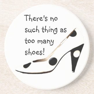 Women Who Love Shoes Coaster