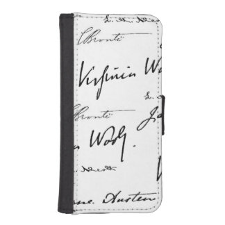 Women Writers iPhone 5 Wallet Cases