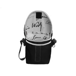 Women Writers Messenger Bag