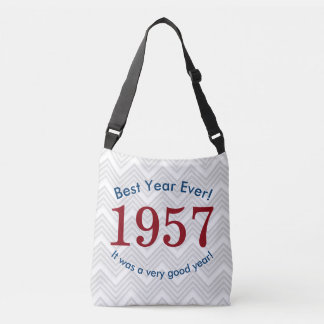 Women's 1957 ♥ Best Year Ever! 60th Birthday Tote